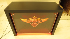 Custom Display with LED Lighting (Orange)