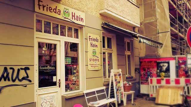 Straßenansicht von FriedaHain-Berlin