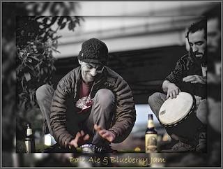 Pale Ale & Blueberry Jam