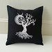 Ghost Baroque Tree Pillow