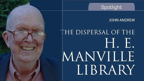 Dispersal of the H.E. Manville Library