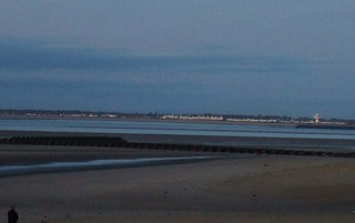 looking out from New brighton