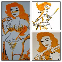 #RedSonja by Darwyn Cooke. #Comics