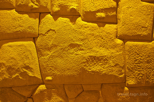 【写真】世界一周 : 12角の石