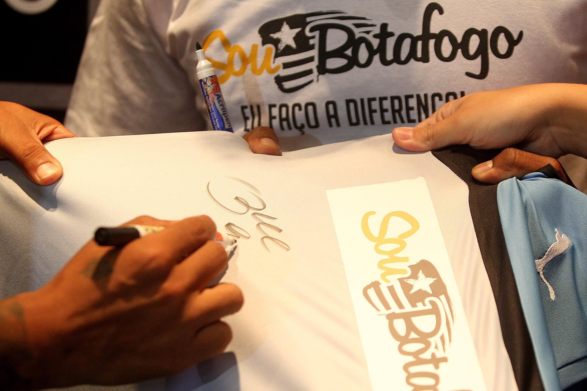 Sessao de Autografos
