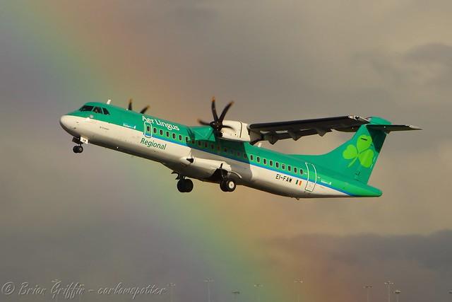 EI-FAW Aer Lingus Regional ATR 72-600
