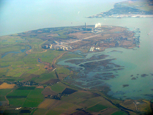 Isle of Grain and Thamesport