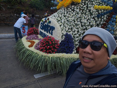 Baguio tour blog 11–Street parade and flower floats (Panagbenga Festival 2012 day 2)
