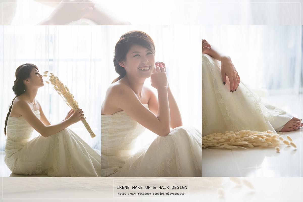 彩妝,Irene 渝璇新秘,新娘秘書,清透妝感,韓風,韓式裸妝