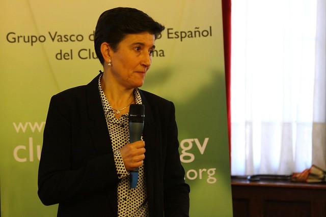 GVCECR con Dª Sara de la Rica