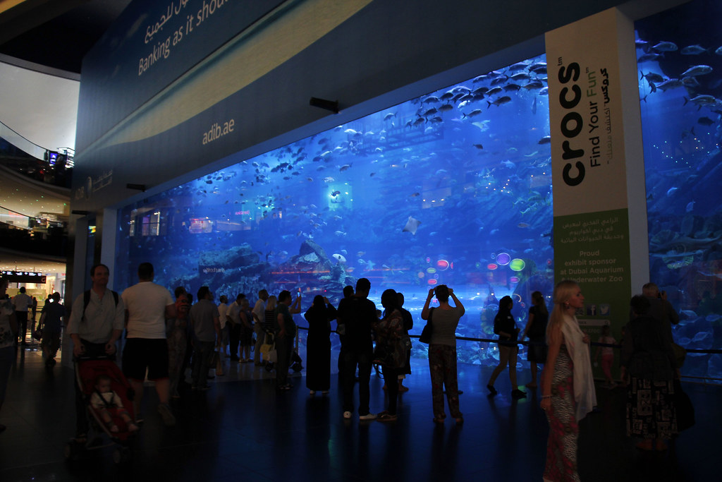 Akvarium i Dubai Mall