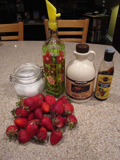 Roasted Strawberries Ingredients