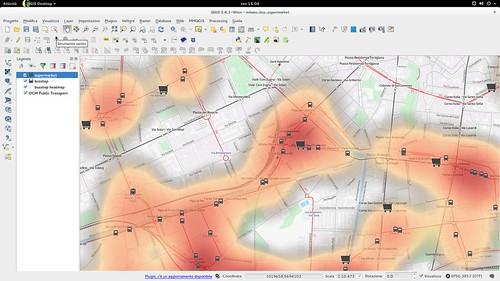 QGIS2.8 heatmap by default