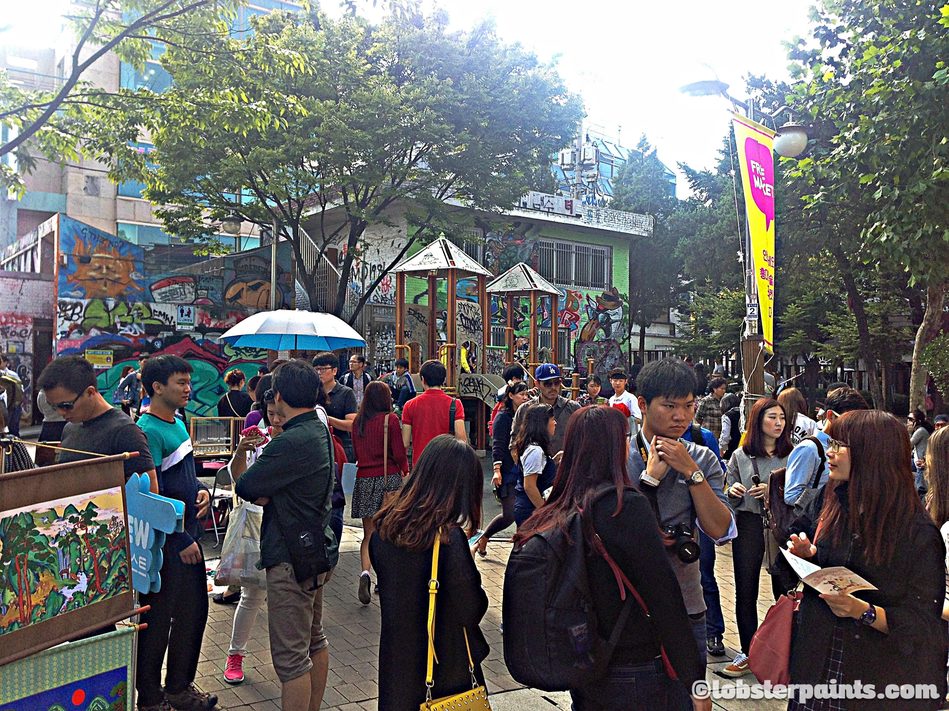 Hongdae Free Market @ Hongdae Playground | Seoul, South Korea