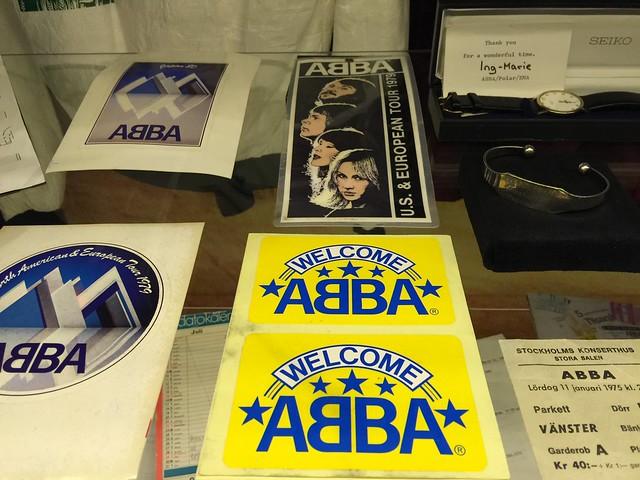 Museo täynnä Abbaa Ruotsissa
