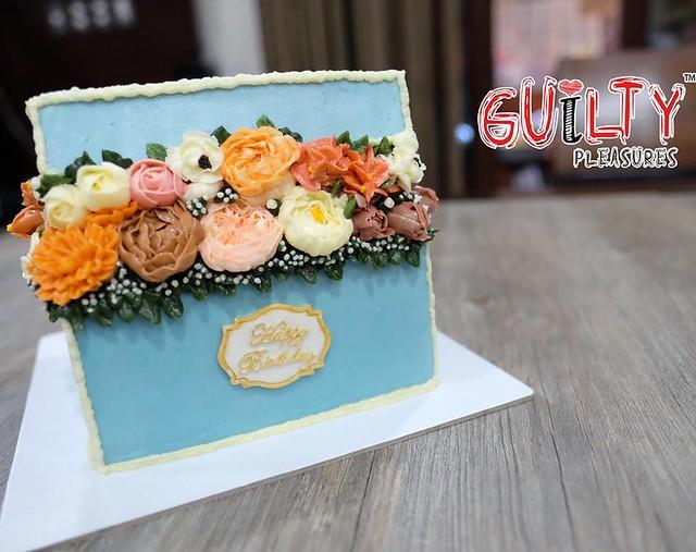 Floral Cake by Finn Ayson