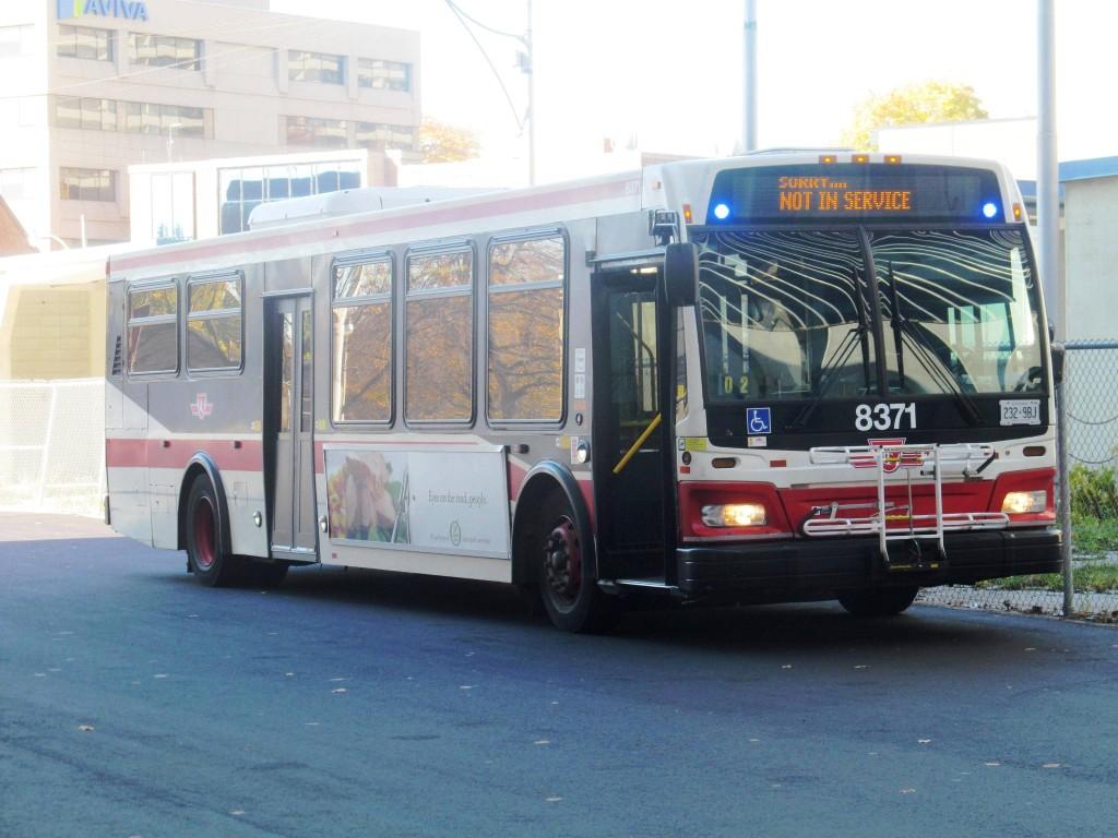 TTC 2012 Orion VII #8371