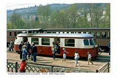 Lamastre. Railcar. 18.4.82