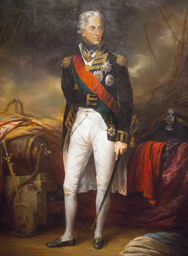 Mariners Museum Newport News Virginia Va. Vice Admiral Horatio Lord Nelson - Jonathan Guiness after Sir William Beechey's 1801 portrait - circa 2000 England