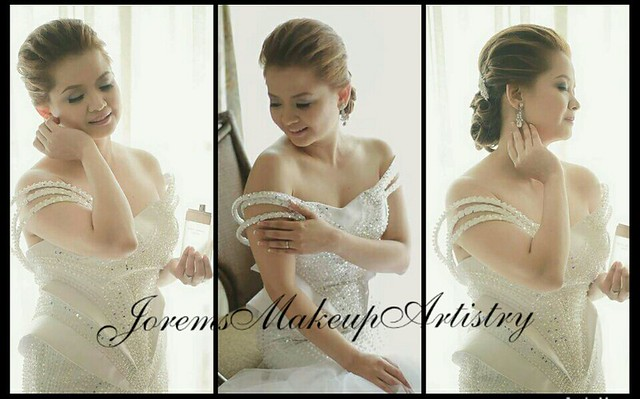 Wedding Hair and Makeup Manila Philippines by Jorems