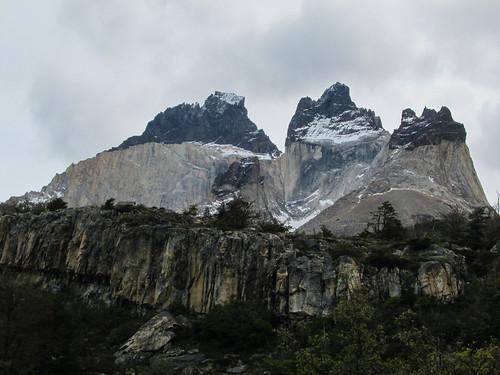Torres del Paine: le massif de Los Cuernos