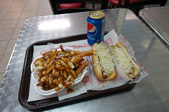Poutine + Hot Dogs @ Montreal Pool Room @ Ville-Ma…