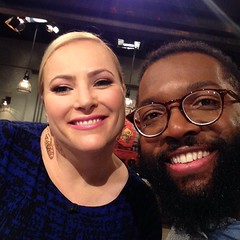 It's my second to last @takepartlive getting to argue with @meghanmccain. It's actually been fun! I will miss this adversary