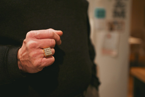 Pap pap's ring.