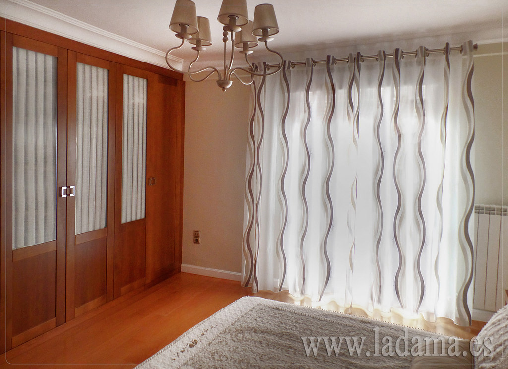 Cortinas modernas la dama decoraci n for Precios de cortinas de salon