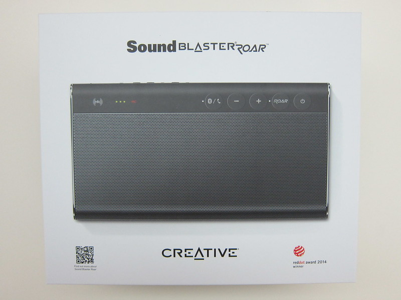 Creative Sound Blaster Roar - Box Front