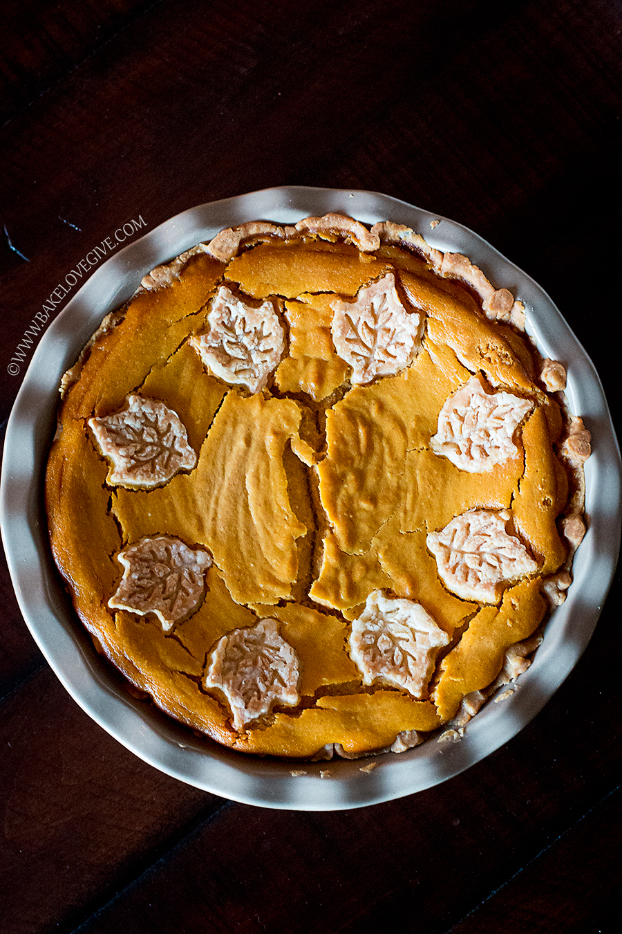 Fluffy Pumpkin Pie Bake Love Give