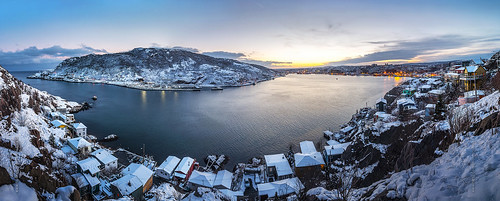 city winter sunset panorama white house snow canada cold ice skyline port newfoundland landscape evening nikon scenery downtown cityscape waterfront harbour dusk hill wide stjohns panoramic clear nfld atlanticcanada d600 stjohnsharbour newfoundlandandlabrador downtownstjohns nikond600