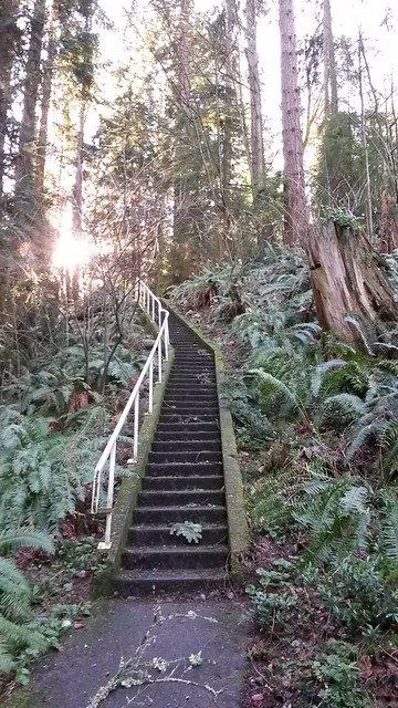 Everett also has death stairs