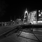 Cardiff bay suspension bridge
