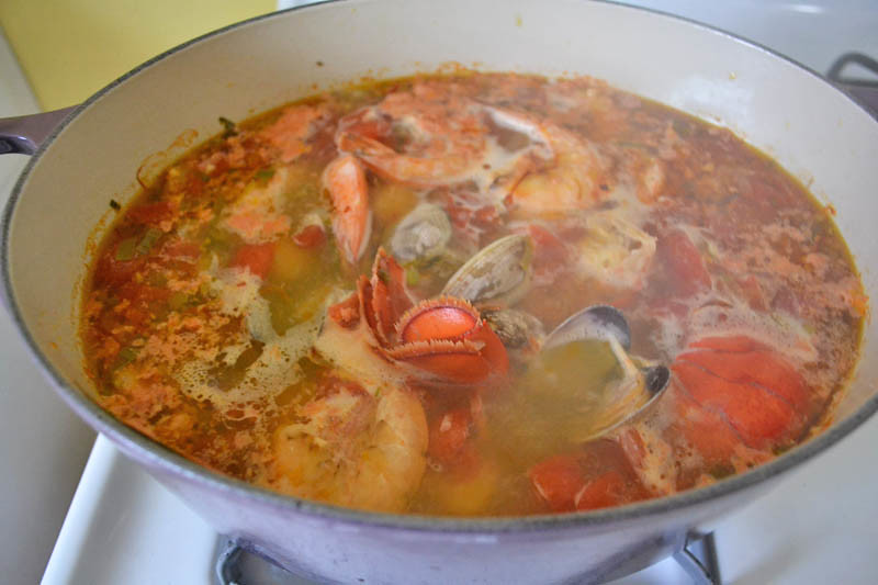 Julia Child's Bouillabaisse via LittleFerraroKitchen.com