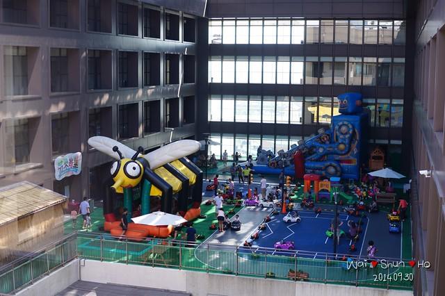 Playground in hotel