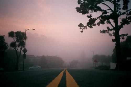 Median morning fog