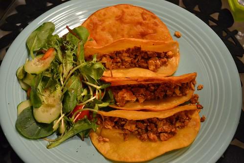 Tacos (+ salad)