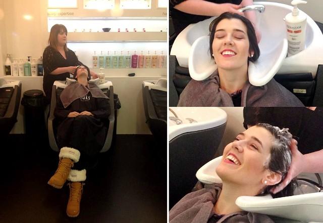 Saks Aberdeen haircut experience