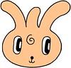 Rabbit fairy cartoon character - Bachelor rabbit