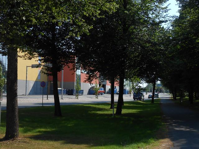 Hämeenlinnan moottoritiekate ja Goodman-kauppakeskus: Työmaatilanne 4.8.2014 - kuva 9