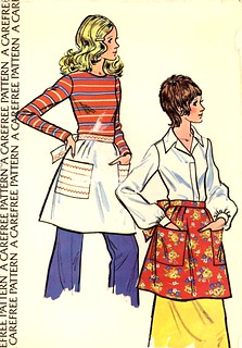 McCalls Sample apron