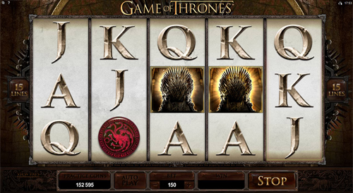 Game of Thrones - 15 Lines Slot Machine