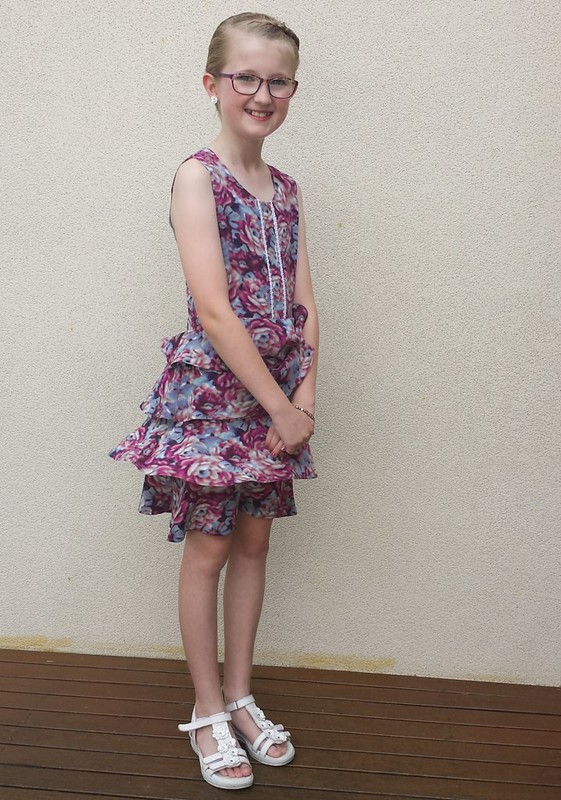 Grade 6 Graduation dress - Figgys Scirocco in Alannah Hill floral silk