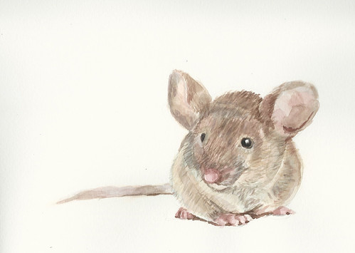 Mouse watercolor