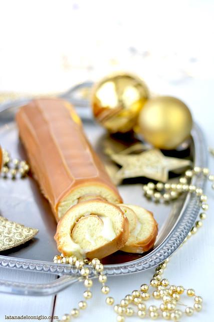 buche de noel caramello e cioccolato bianco3