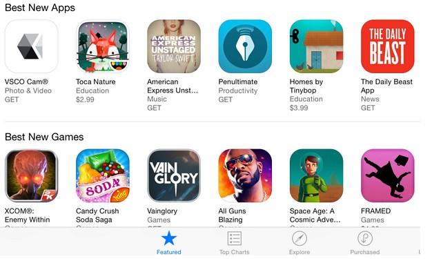 App Store Get label
