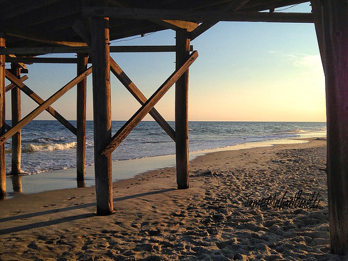 ocean sunset summer sun beach nature pier nc sand northcarolina carolina carolinas holdenbeachnc holdenbeachnorthcarolina