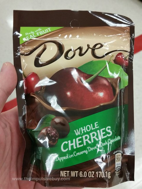 Dove Whole Cherries Dipped in Creamy Dove Dark Chocolate