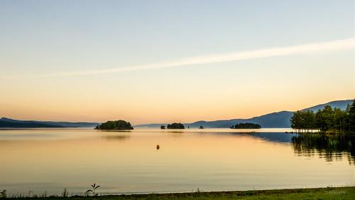 lake norway sunrise lumix dawn islands panasonic fjord scandinavia hdr randsfjorden oppland sandøya fz150 eidsand bergøya kongeøya hornslinna